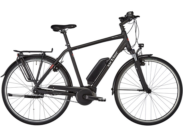 Ortler Montreux Power 500 E-citybike sort | City